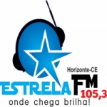 Logo da emissora Rádio Estrela 105.3 FM