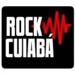 Logo da emissora Rock Cuiabá (Rede Rock Bauru)