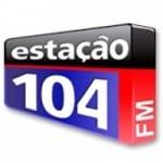 Logo da emissora Rádio Estação 104.1 FM