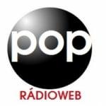 Logo da emissora Pop Rádio Web