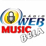 Logo da emissora Rádio Web Music Bela