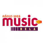 Logo da emissora Rádio Music Bela
