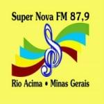 Logo da emissora Rádio Supernova 87.9 FM