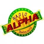 Logo da emissora Rádio Alpha Pentecostal