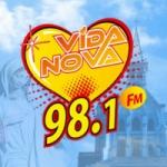 Logo da emissora Rádio Vida Nova