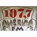 Logo da emissora Rádio América Mix