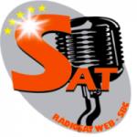 Logo da emissora RádioSat 100% Forró