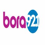 Logo da emissora Rádio Bora FM