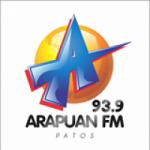 Logo da emissora Rádio Arapuan 93.9 FM