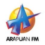 Logo da emissora Rádio Arapuan 107.3 FM