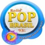 Logo da emissora Rádio Pop Brasil 93.7 FM