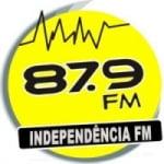 Logo da emissora Rádio Independência 87.9 FM