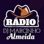 Logo da emissora Rádio DJ Marcinho Almeida
