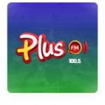 Logo da emissora Rádio Plus 100.5 FM