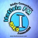 Logo da emissora Rádio Itatiaia 104.9 FM