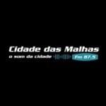Logo da emissora Rádio Cidade das Malhas 87.5 FM