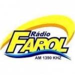 Logo da emissora Rádio Farol 1390 AM