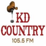 Logo da emissora WKDE 105.5 FM