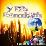 Logo da emissora Rádio Restaurando Vidas