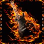 Logo da emissora Rádio Rock Pinheiral