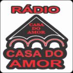 Logo da emissora Rádio Casa do Amor