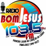 Logo da emissora Rádio Bom Jesus 103.5 FM