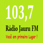 Logo da emissora Rádio Jauru FM