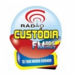 Logo da emissora Rádio Custódia