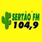 Logo da emissora Rádio Sertão 104.9 FM