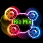 Logo da emissora Rádio Rio Mix