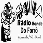 Logo da emissora Rádio Bonde do Forró