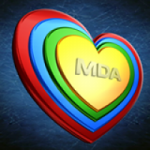 Logo da emissora Rádio Visão MDA