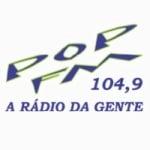 Logo da emissora Rádio Pop 104.9 FM