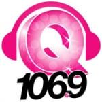 Logo da emissora THE Q 106.9 FM