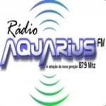 Logo da emissora Rádio Aquarius 87.9 FM