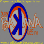 Logo da emissora Rádio Super Bacana