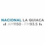 Logo da emissora Radio Nacional La Quiaca 1150 AM 93.5 FM