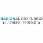 Logo da emissora Radio Nacional Río Turbio 620 AM 90.3 FM