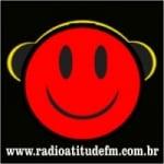 Logo da emissora Atitude FM