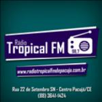 Logo da emissora Rádio Tropical 98.7 FM
