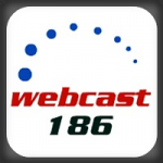 Logo da emissora Webcast 186