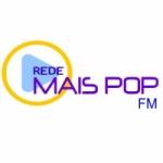 Logo da emissora Rede Mais Pop FM