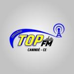 Logo da emissora Rádio Top FM Canindé