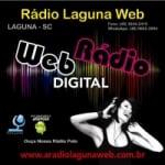 Logo da emissora Rádio Laguna Web