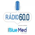 Logo da emissora Rádio 60.0 Blue Med