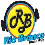 Logo da emissora Rio Branco Rádio Web