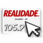 Logo da emissora Rádio Realidade 105.9 FM