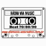Logo da emissora Rádio Via Music