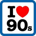 Logo da emissora Rádio 90's