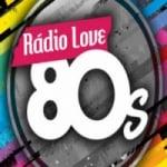 Logo da emissora Rádio Love 80s